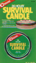Canned Survival Candle