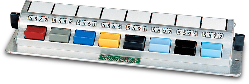 multiple tally counters