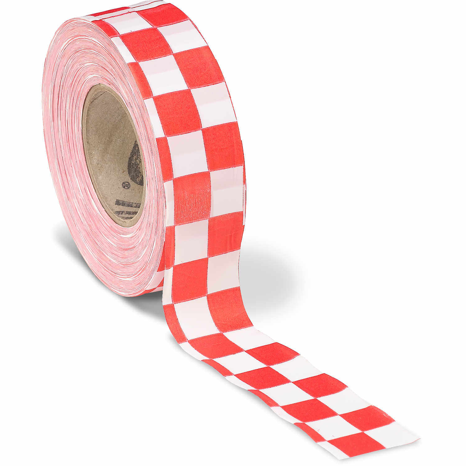 dotted flagging tape